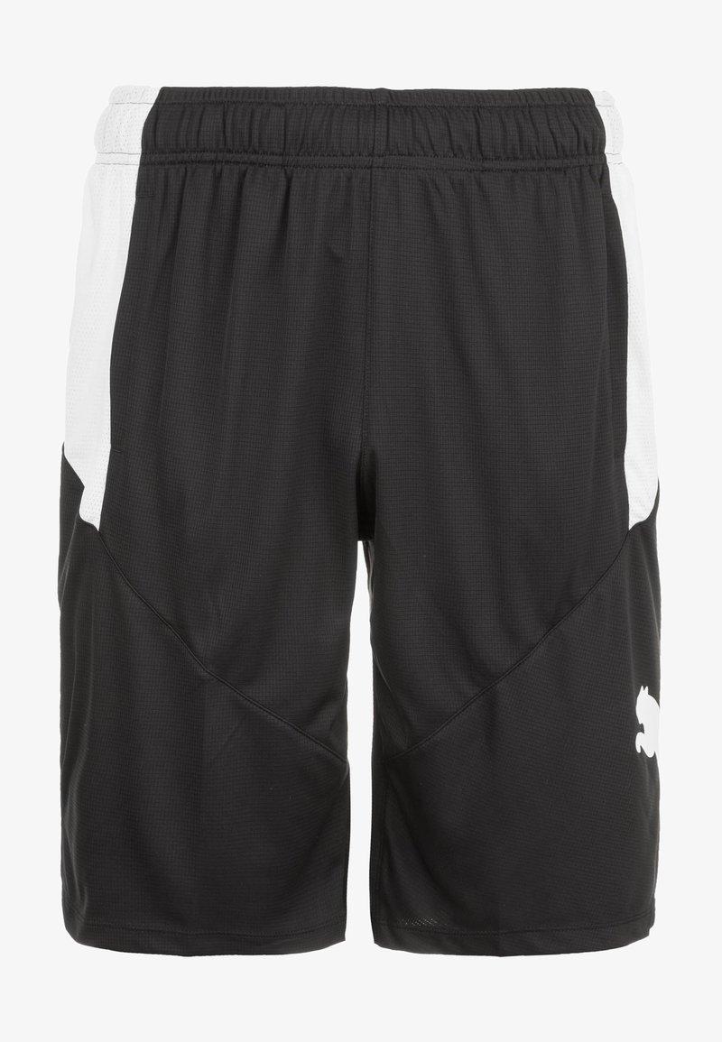 Puma - Sports shorts - black /white