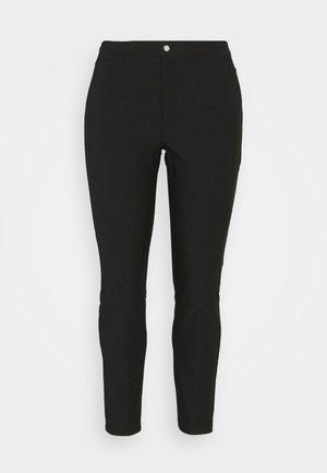 NMSOLINE SOLID PANTS - Kangashousut - black
