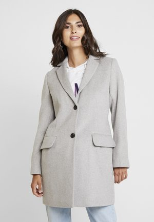 COAT - Kort kappa / rock - light gunmetal