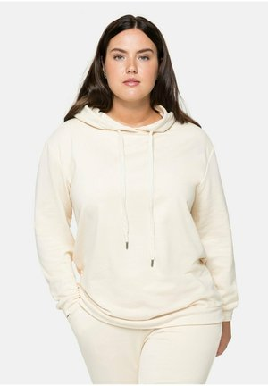Sweatshirt - beigefarben