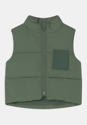 MINI PUFFER - Waistcoat - green