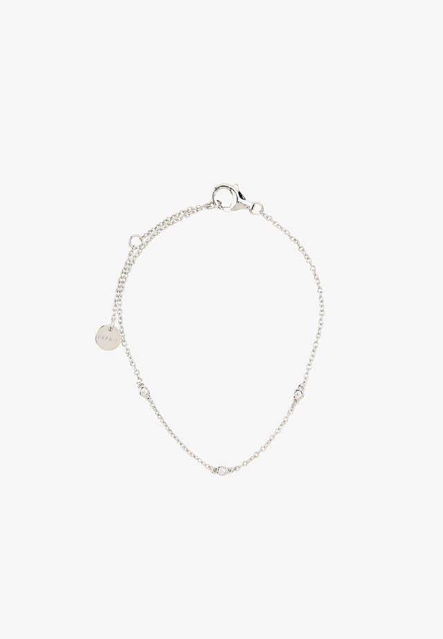 MIT ZIRKONIA - Armband - silver-coloured