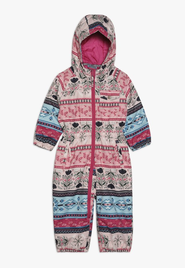 GIRLS ONESIE - Tuta da neve - multicolored