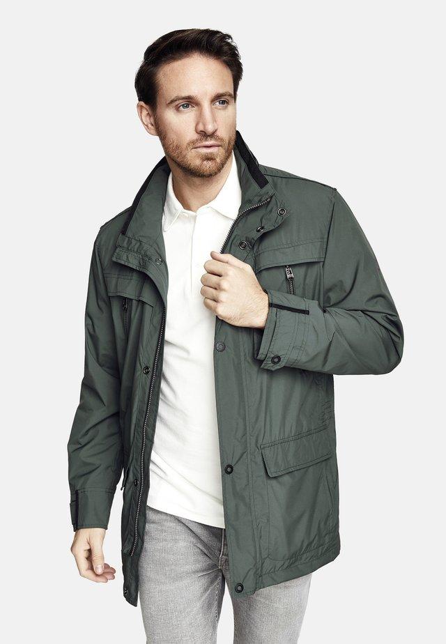 Winter jacket - grey bottle