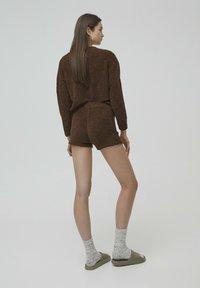 PULL&BEAR - Shorts - brown - 2