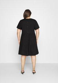 Vero Moda Curve - VMGULVA ABOVE KNEE DRESS - Day dress - black - 2
