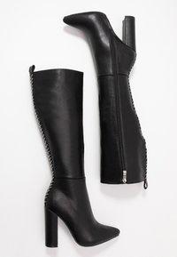 RAID - Kozačky na vysokém podpatku - black - 3