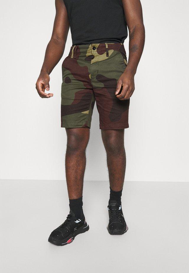 VETAR  - Shorts - olive/brown/beige