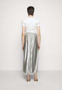MM6 Maison Margiela - A-line skirt - light grey - 2