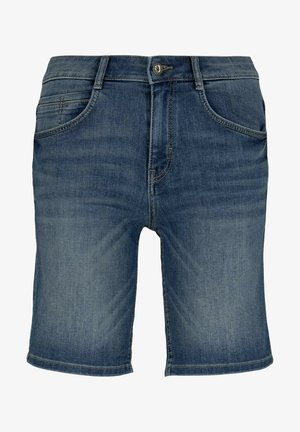 Szorty jeansowe - mid stone wash denim