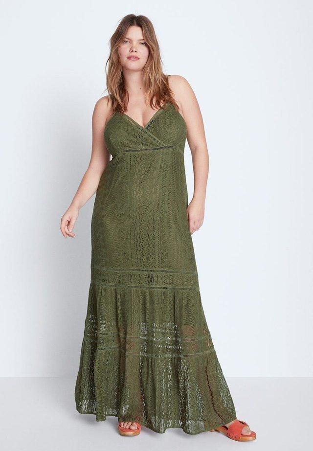 GREEN - Maxi dress - khaki