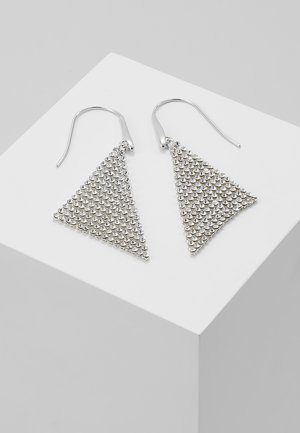 FIT - Earrings - silver-coloured