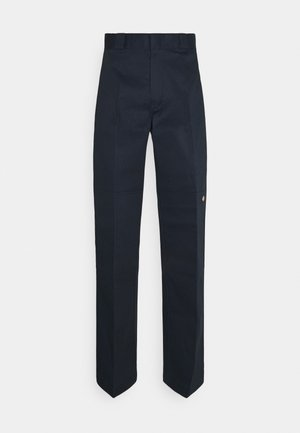 DOUBLE KNEE WORK PANT - Trousers - dark navy