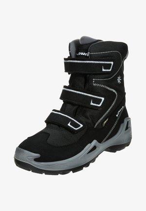 Winter boots - schwarz/hellgrau