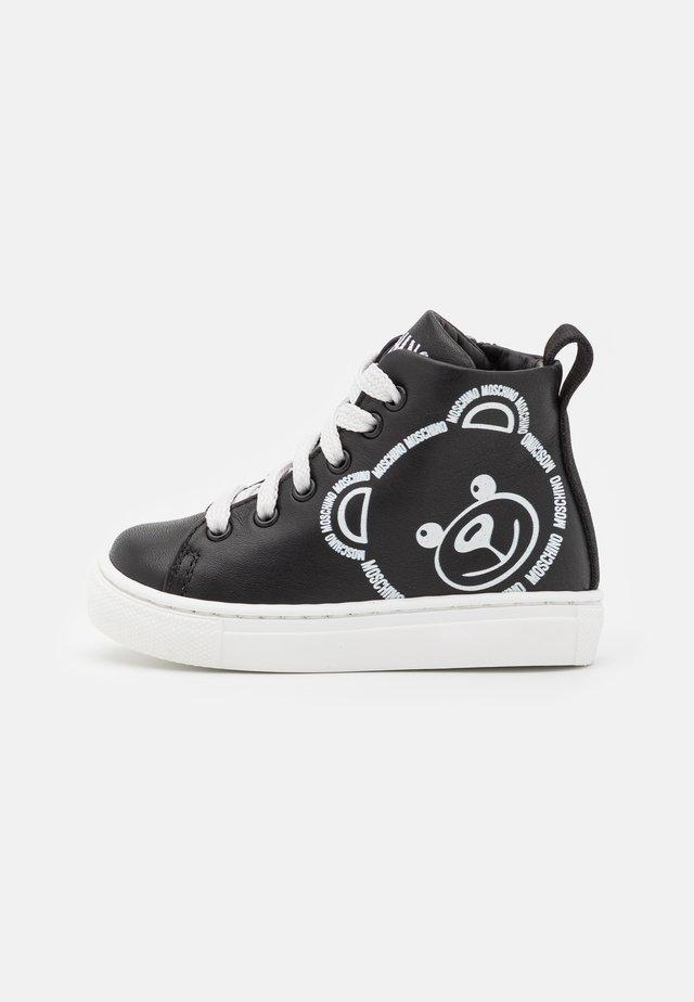 UNISEX - Sneakers high - black