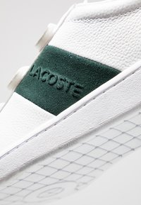 Lacoste - CARNABY STRAP - Sneakers - white/dark green - 5