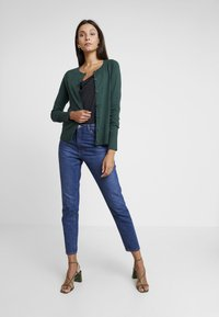 GAP - SLIM CREW CARDI - Cardigan - mountain teal - 1