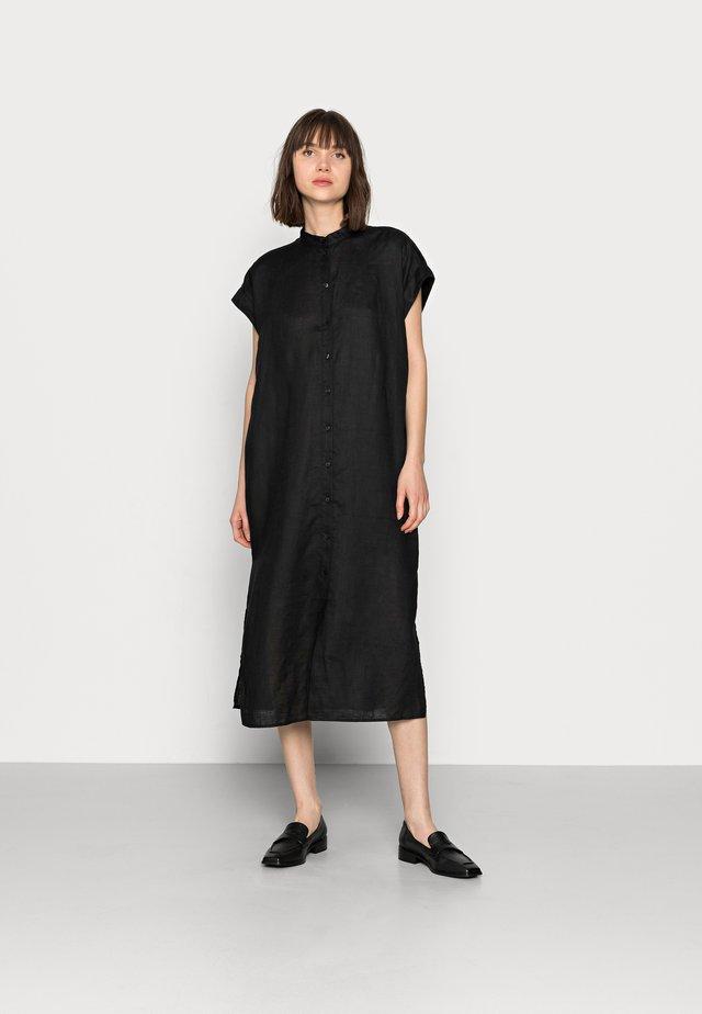 BLOUSE SPACE - Sukienka koszulowa - black