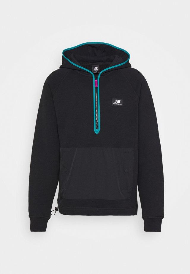 ATHLETICS TERRAIN HOODIE - Sweater - black