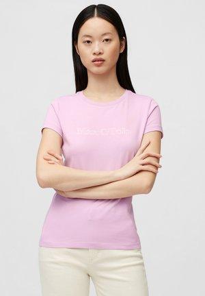 Print T-shirt - breezy lilac