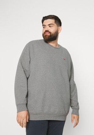 BIG ORIGINAL CREW - Sweatshirt - chisel grey heather