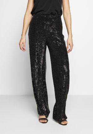 RHIANNON - Spodnie materiałowe - black
