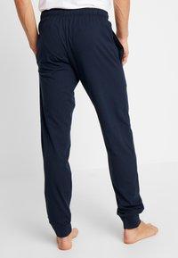 Schiesser - BASIC - Pyjamahousut/-shortsit - dark blue - 2