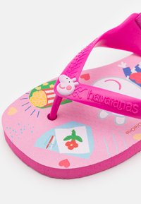 Havaianas - PEPPA PIG - T-bar sandals - pink flux - 5