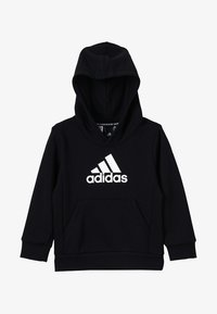 adidas Performance - UNISEX - Bluza z kapturem - black/white - 3