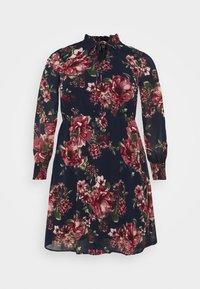 Vero Moda Curve - VMNEWSUNILLA SMOCK DRESS  - Day dress - navy blazer/newsunilla - 5