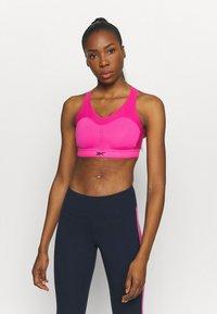 Reebok - PUREMOVE BRA - Urheiluliivit: keskitason tuki - proud pink - 0