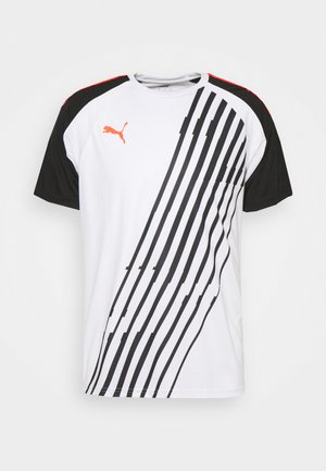 TEAMLIGA GRAPHIC - T-shirts print - white/red blast/black