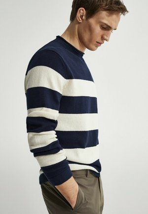 Jumper - blue-black denim