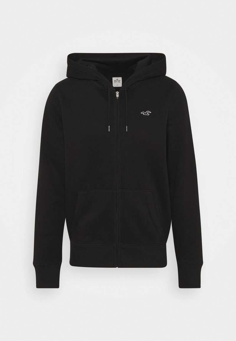 Hollister Co. - Zip-up hoodie - black