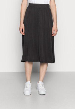 REGISSE - A-line skirt - black
