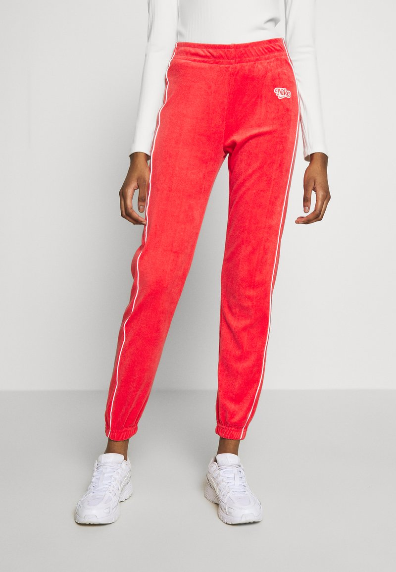 Nike Sportswear - Tracksuit bottoms - track red