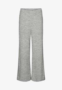 Vero Moda - Trousers - light grey melange - 4