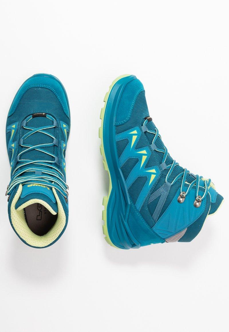 Lowa - INNOX PRO GTX MID JUNIOR UNISEX - Hiking shoes - türkis/mint