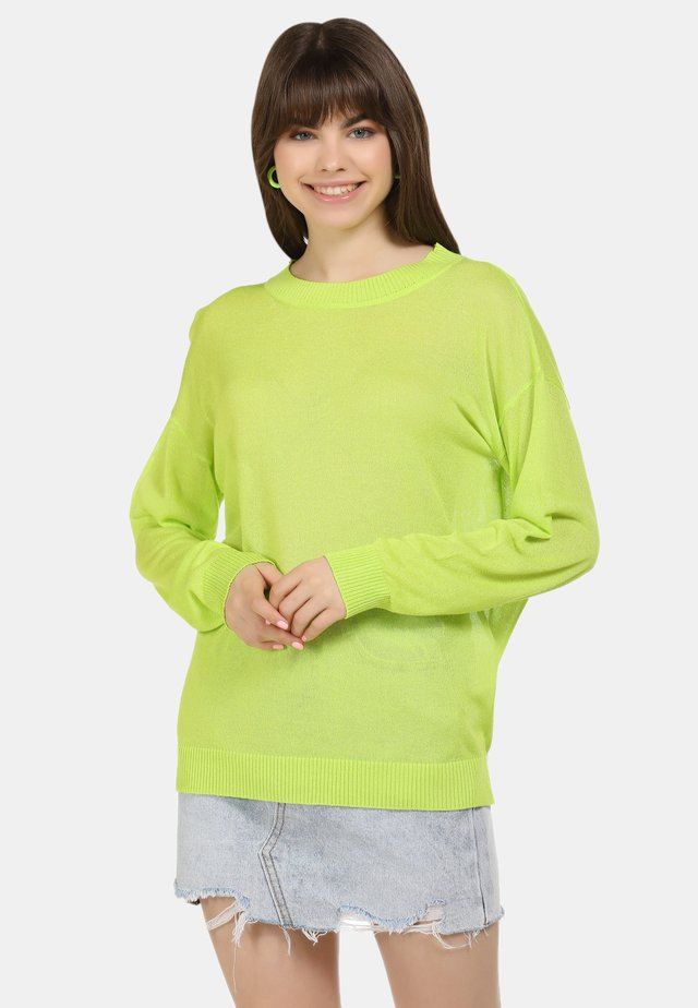 Neule - neon grün