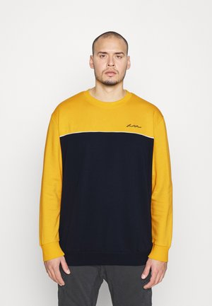 JORPIPE CREW NECK - Sweater - spicy mustard