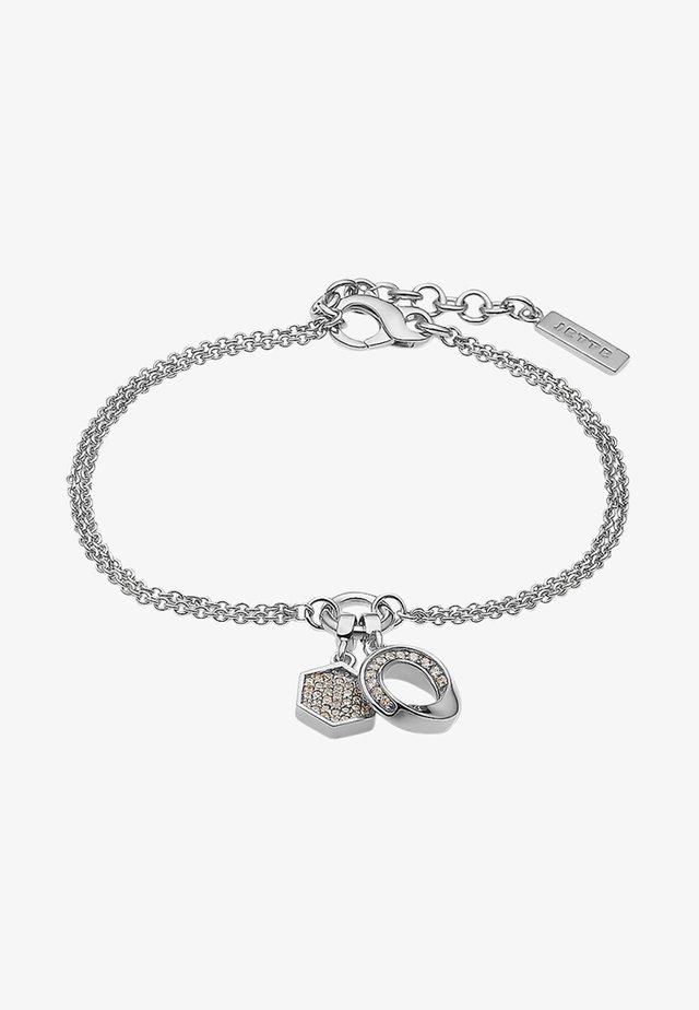 CONNECTION - Bracelet - silver