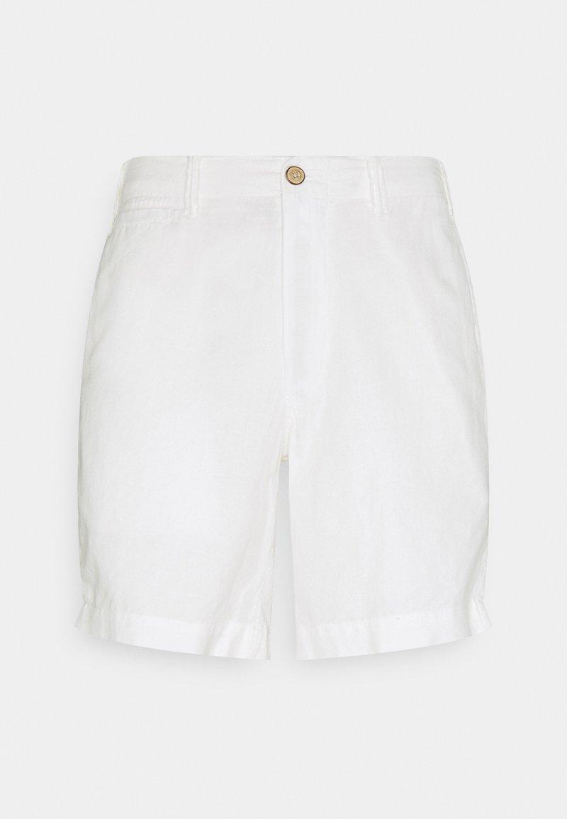 Polo Ralph Lauren - STRAIGHT FIT MARITIME - Shorts - white