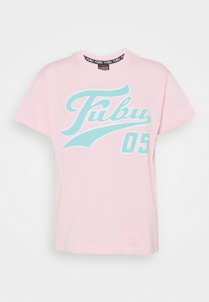 VARSITY  - Print T-shirt - pink