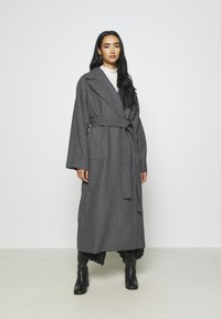 Weekday - KIA BLEND COAT - Zimní kabát - antracit melange - 0
