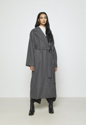 KIA BLEND COAT - Kappa / rock - antracit melange
