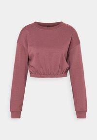 South Beach - OVERSIZED CROP - Sweatshirt - rose brown - 4