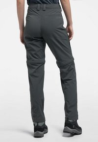 Haglöfs - ZIP OFF PANT - Outdoor trousers - magnetite - 1