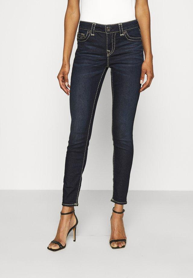 HALLE - Jeans Skinny Fit - dark miner