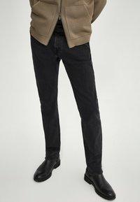 Massimo Dutti - Jean slim - black - 0