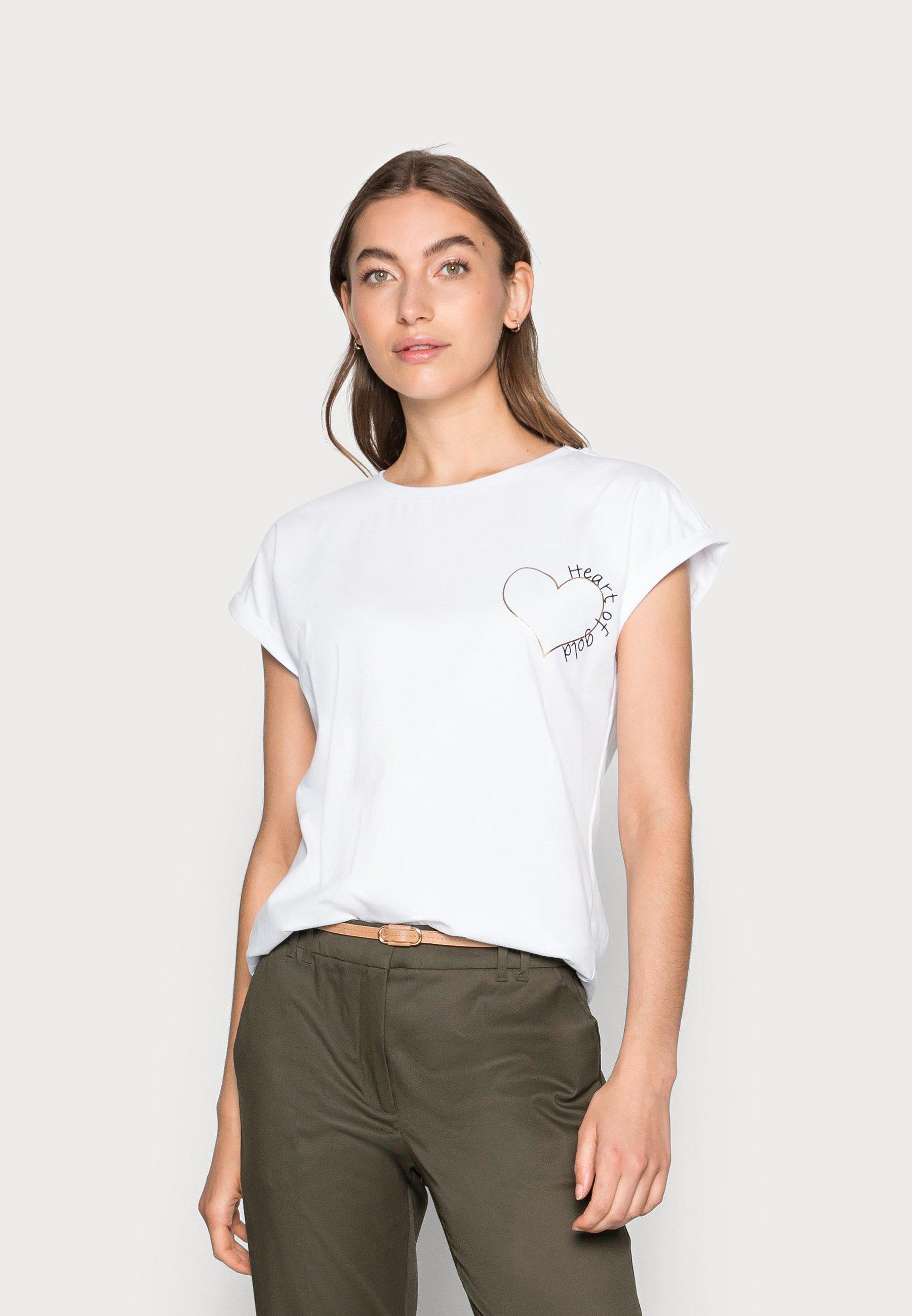Damen Heart - T-Shirt print